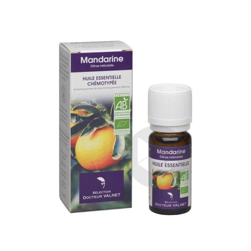 DOCTEUR VALNET Huile essentielle bio Mandarine Fl/10ml