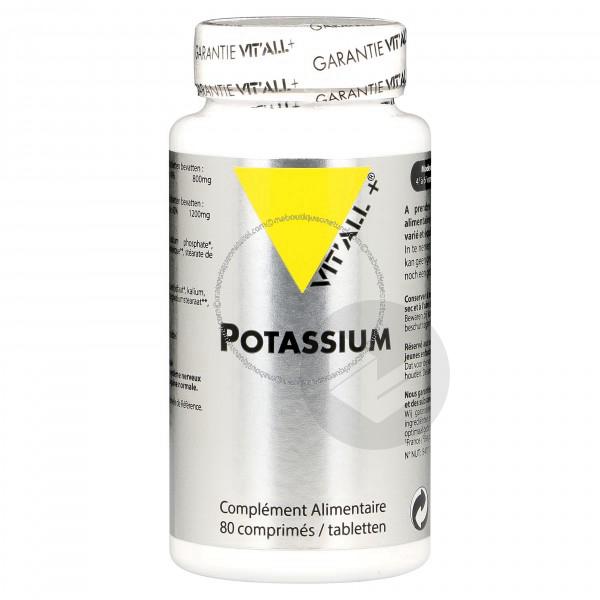 Potassium 200 mg - 80 comprimés