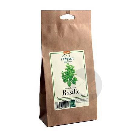 Basilic feuilles Bio - Sachet 35 g