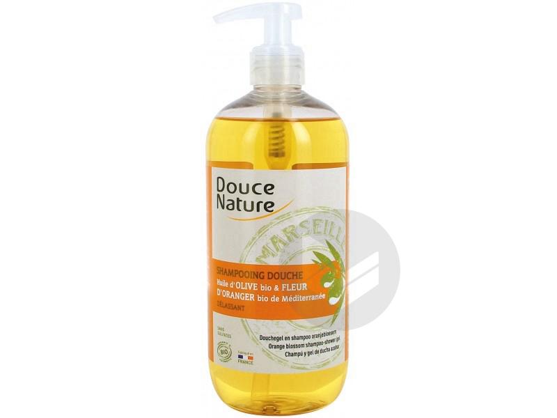 Shampooing Douche Delassant Huile Dolive Fleur Doranger Bio 500 Ml