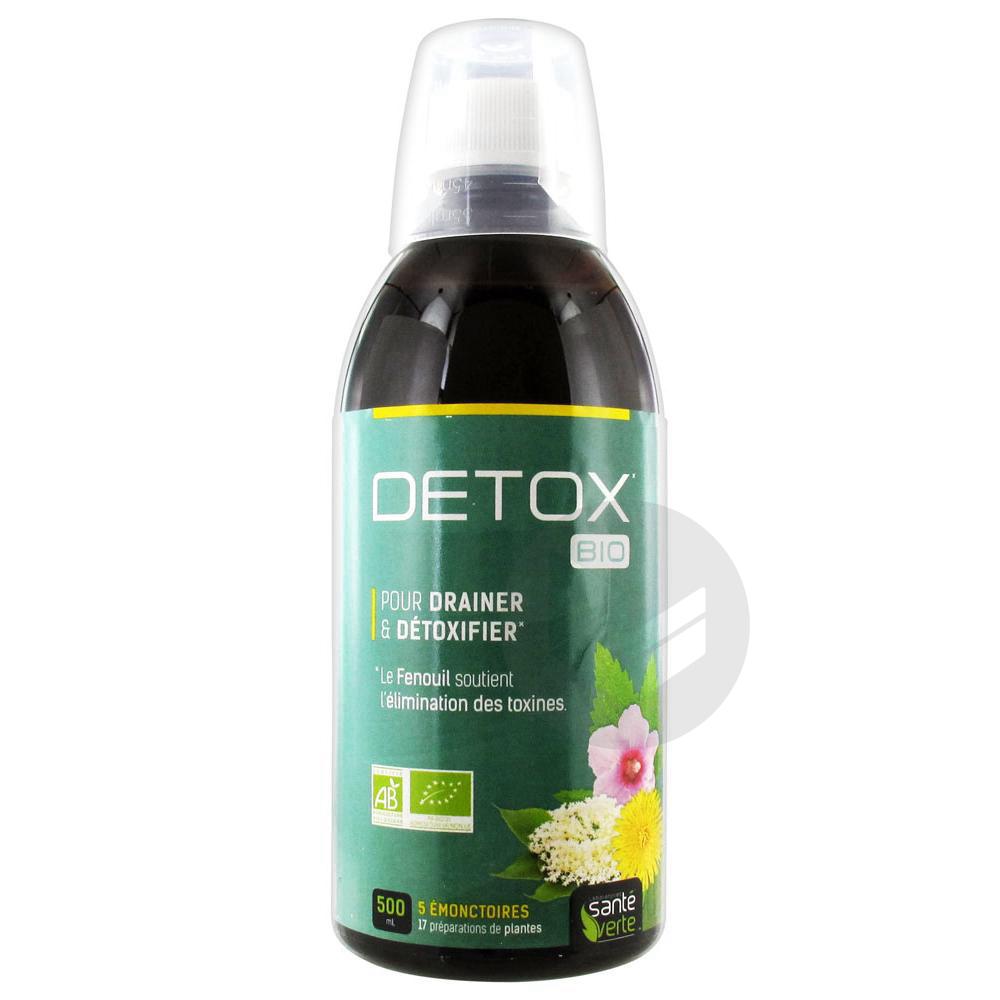 Sante Verte S Buv Detox Bio Fl 500 Ml