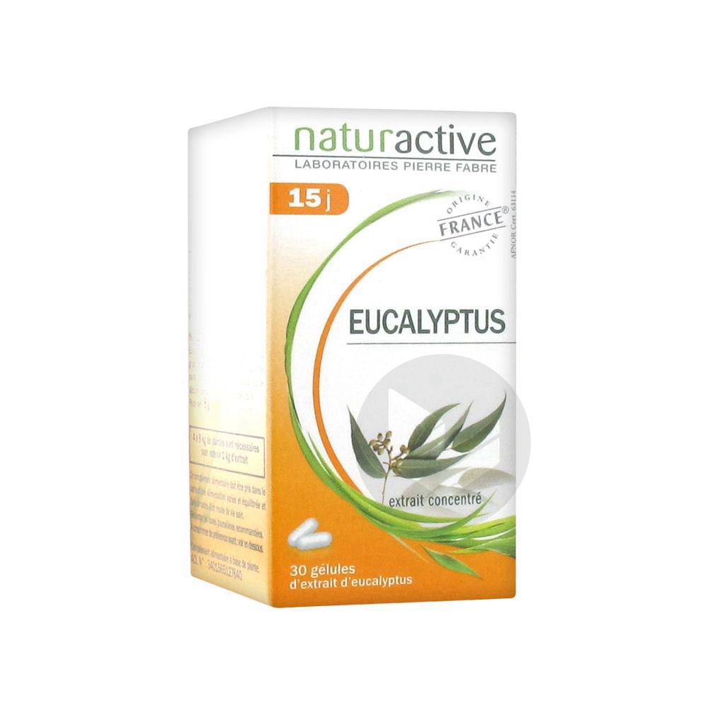 NATURACTIVE PHYTOTHERAPIE Eucalyptus Gél Pilulier/30