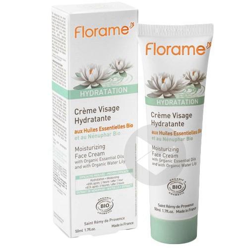 Crème visage hydratante Bio - 50 ml