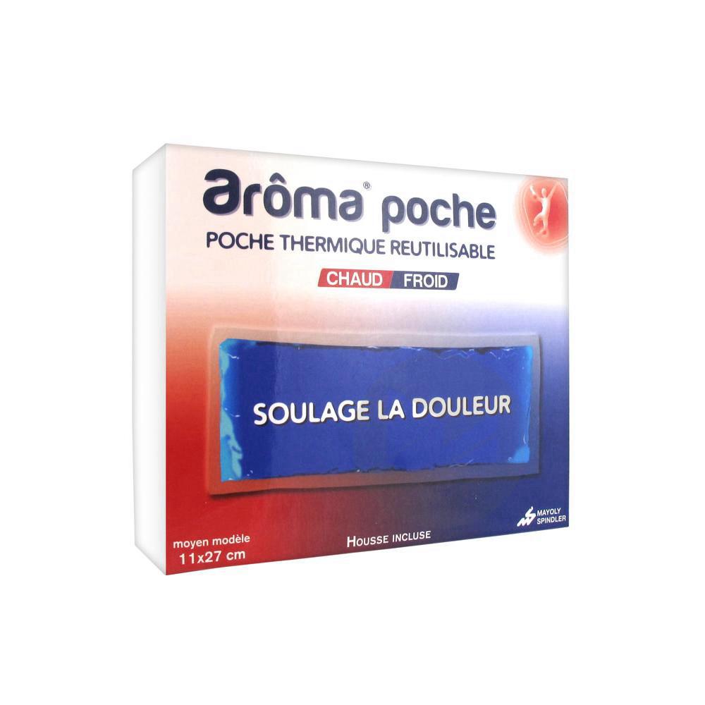 Aroma Poche Pack Reutilisable Chaud Froid 11 X 27 Cm