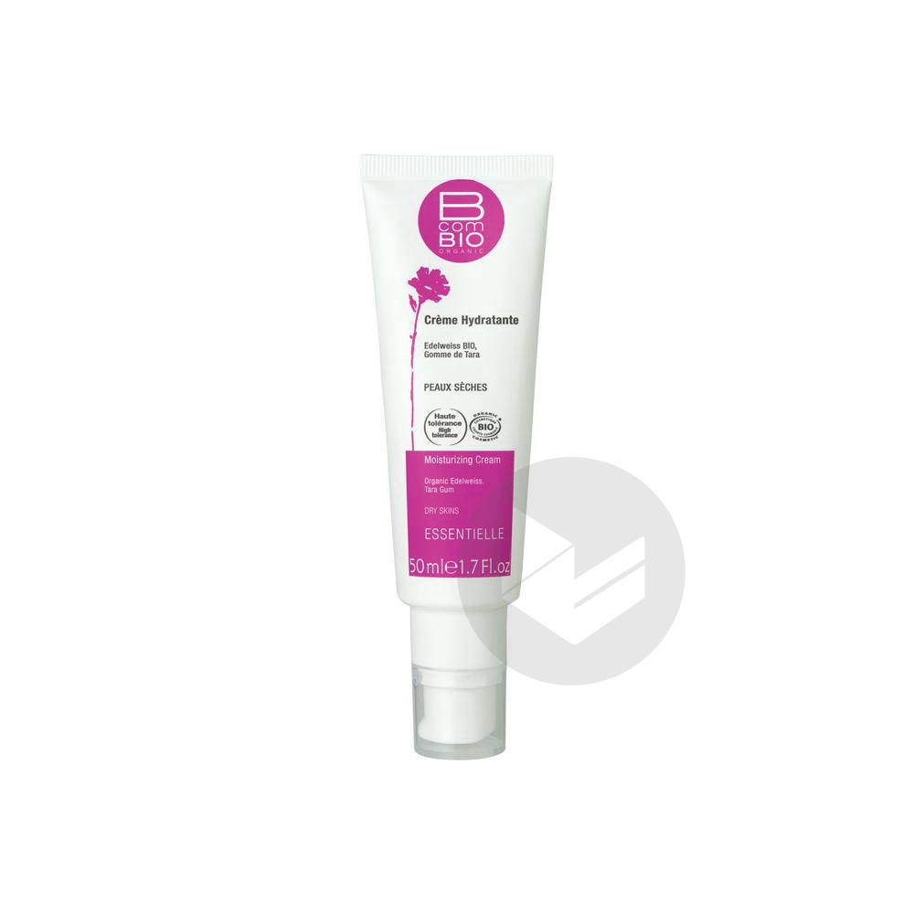 B COM BIO ESSENTIELLE Cr hydratante peau sèche Fl airless/50ml