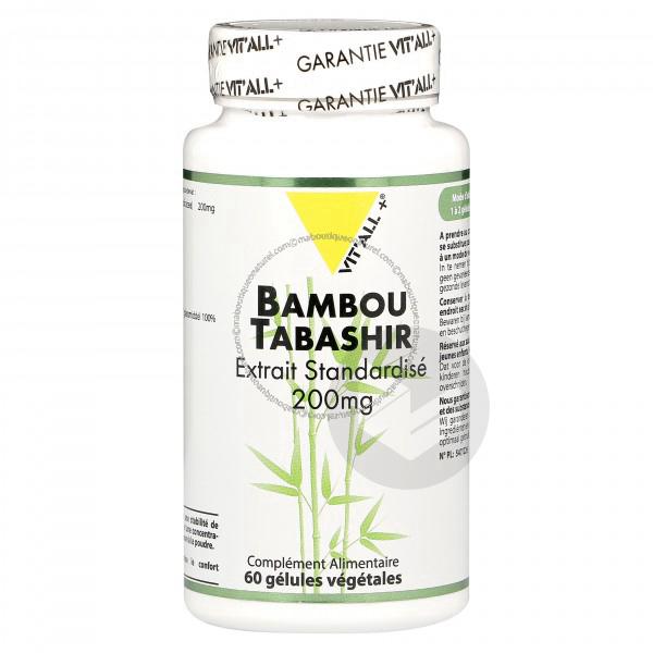Bambou tabashir - 60 Vcaps