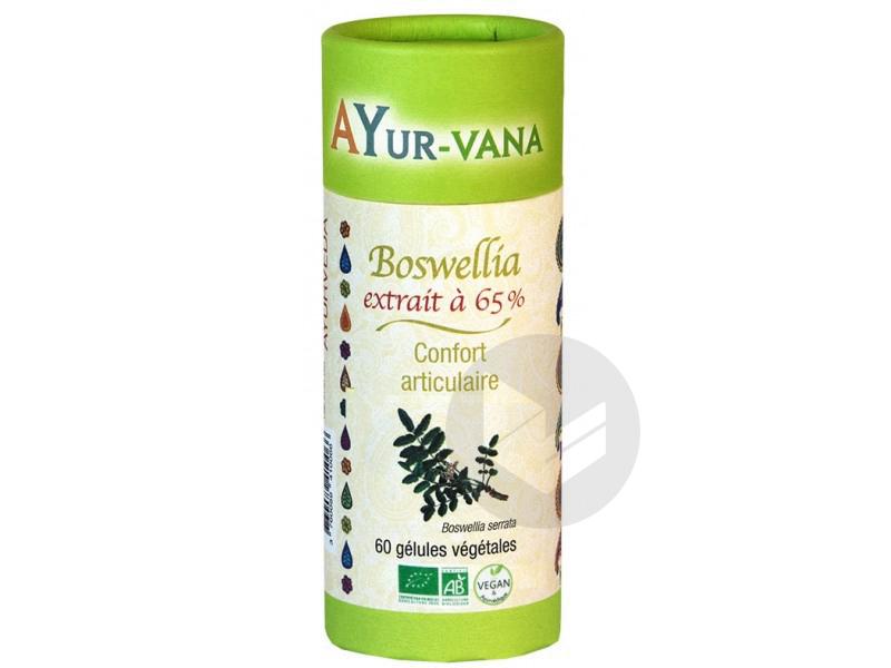 Boswellia Titre A 65 Bio 60 Gelules