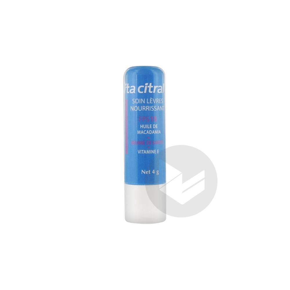 Vita Citral Soin Lèvres Nourrissant SPF 15 4 g