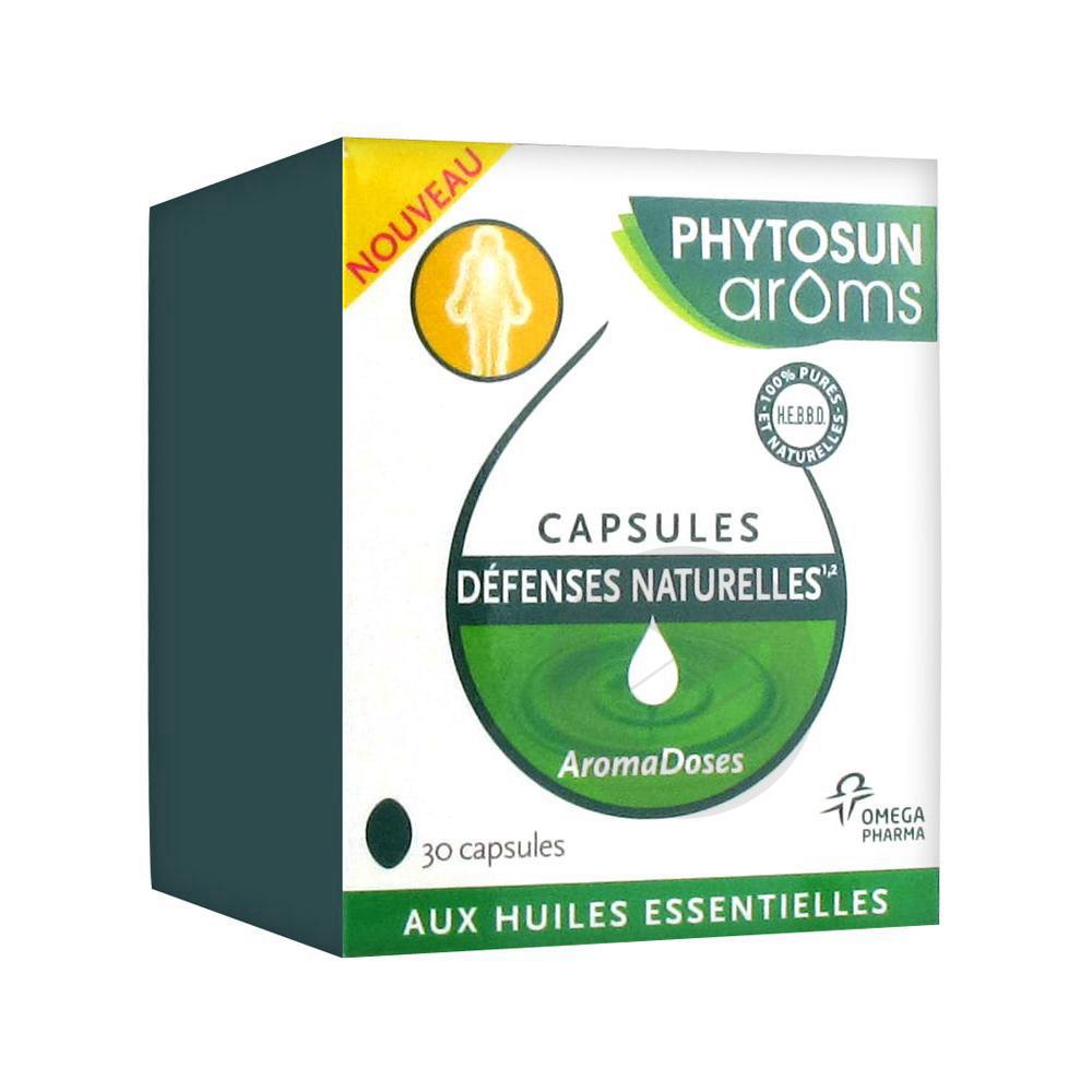 Phytosun Aroms Aromadoses Caps Defenses Naturelles Etui 30