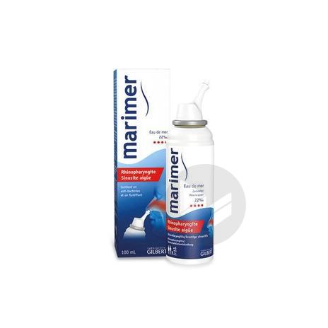 Marimer S Nas Rhinopharyngite Sinusite Aigue Spray 100 Ml