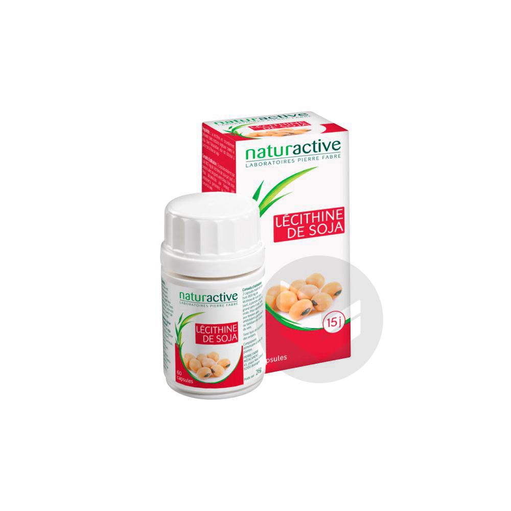 NATURACTIVE PHYTOTHERAPIE Lécithine de soja Caps Pilulier/60