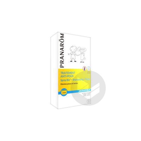 Aromapoux Bio Trait Complet Anti Poux Fl 30 Ml Peigne Shampooing