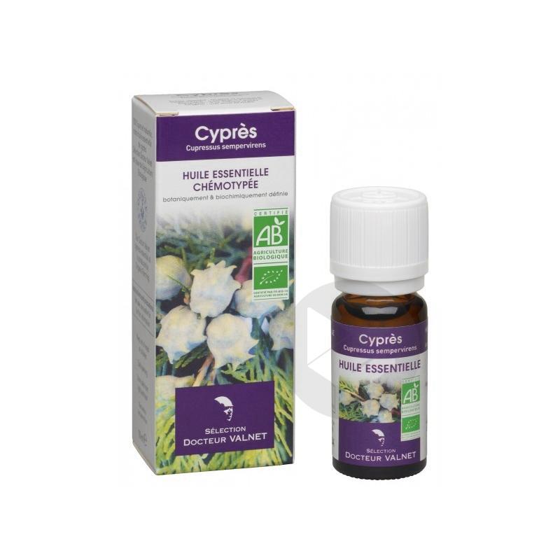 DOCTEUR VALNET Huile essentielle bio Cyprès Fl/10ml