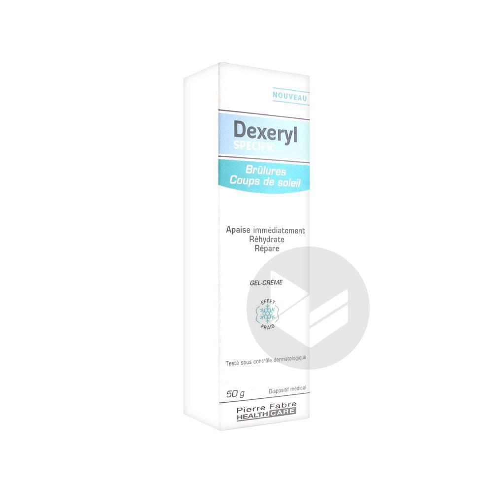 Dexeryl Specific Gel Creme Brulure Coup De Soleil T 50 G