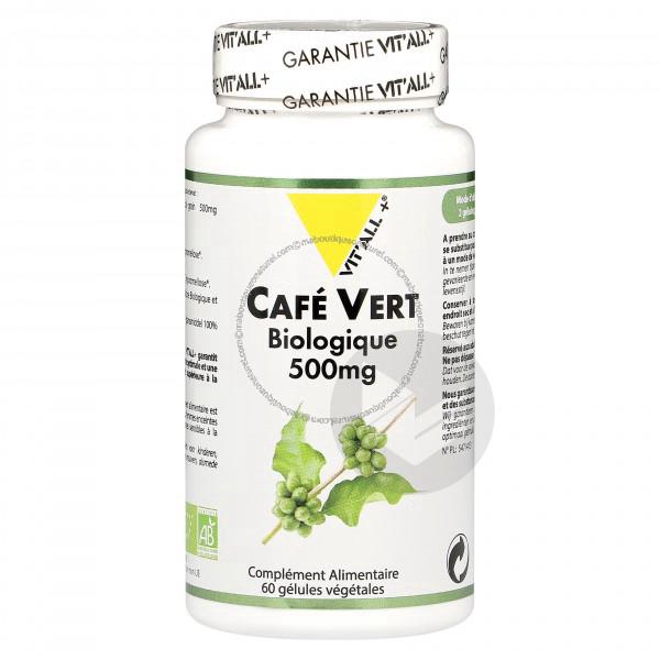 Café Vert Bio - 60 gélules