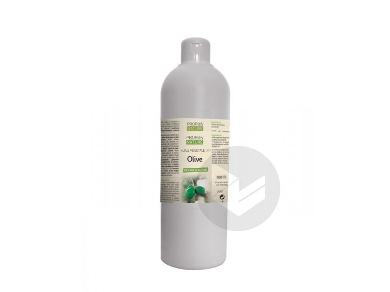 Huile végétale Olive - 500 ml