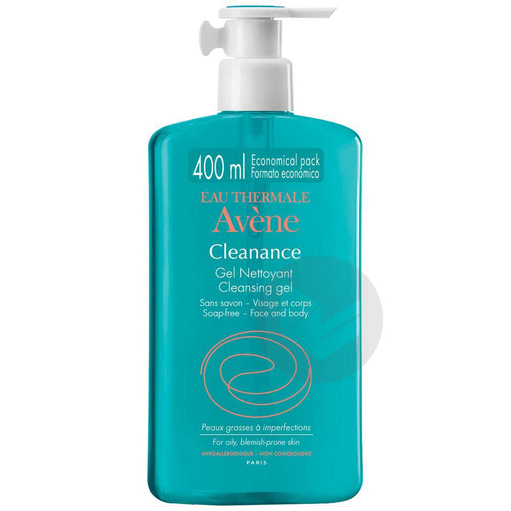 Cleanance Gel Nettoyant Sans Savon Fl 400 Ml