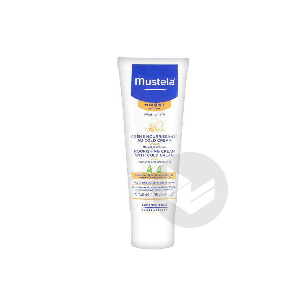 Mustela Bebe Enfant Cr Nourrissante Cold Cream T 40 Ml