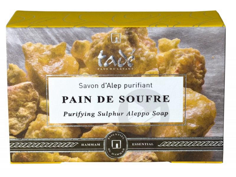 Pain de soufre savon d'Alep purifiant - 150 g
