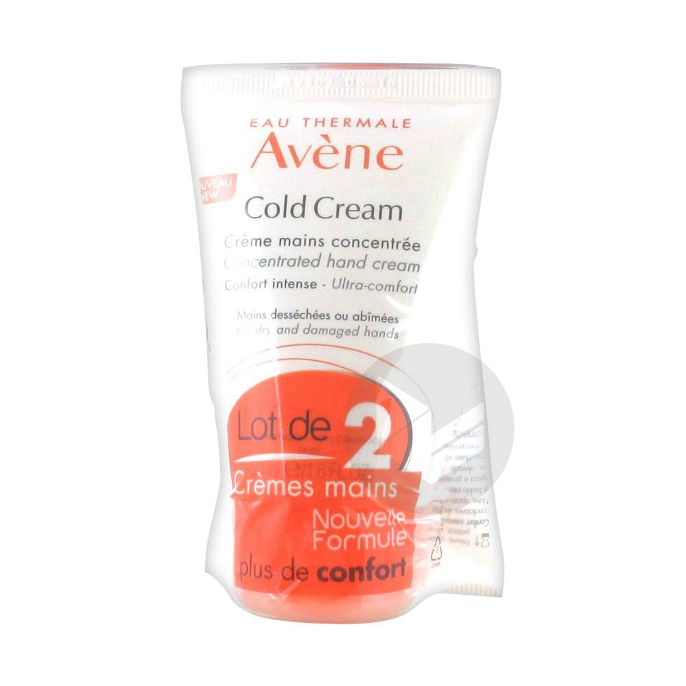 Cold Cream Avene Cr Mains Concentree 2 T 50 Ml