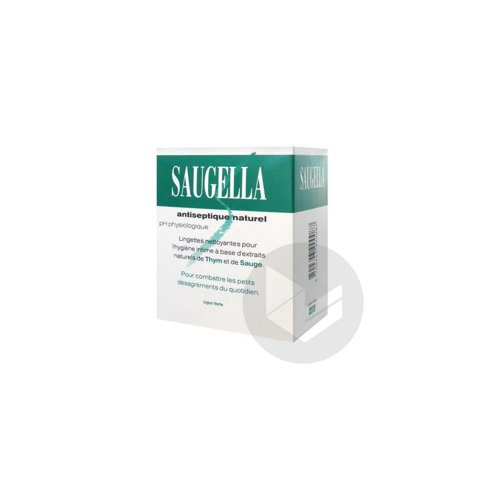 Antiseptique Lingette Hygiene Intime 10 Sach