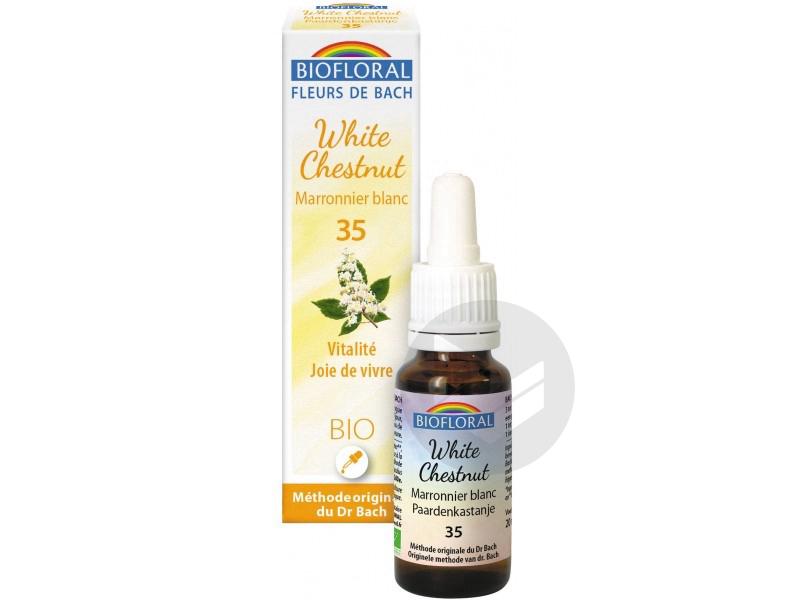 Fleur de Bach White Chesnut N°35 - 20 ml