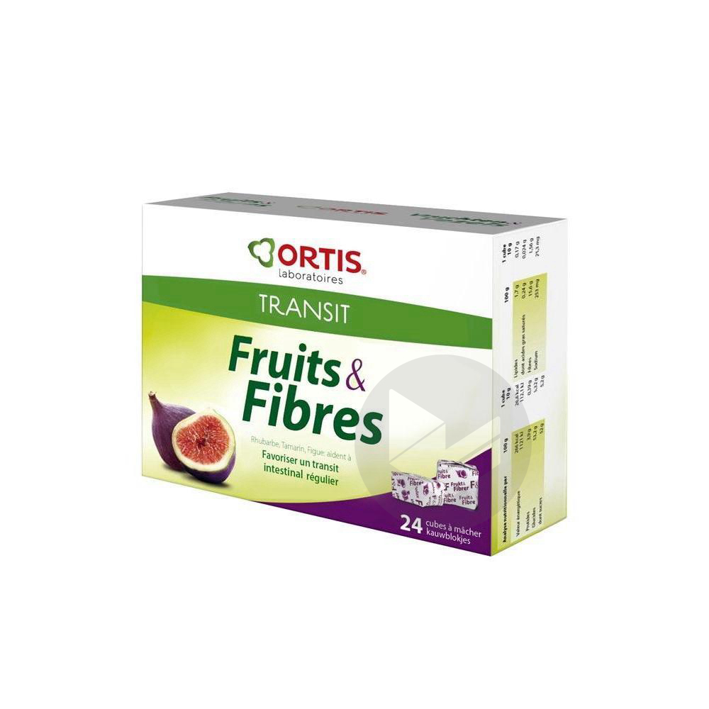 Fruits Fibres Cube A Macher Transit Facile B 24