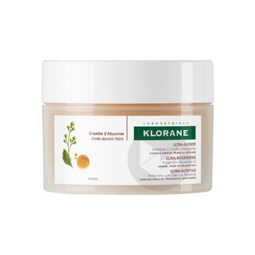 KLORANE CAPILLAIRE Masque Huile d'Abyssinie cheveux crépus Pot/125ml