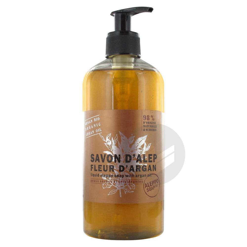 Tadé Savon d'Alep Liquide Fleur d'Argan 500 ml