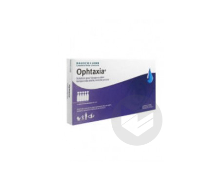Ophtaxia 10 Unidoses X 10 Ml