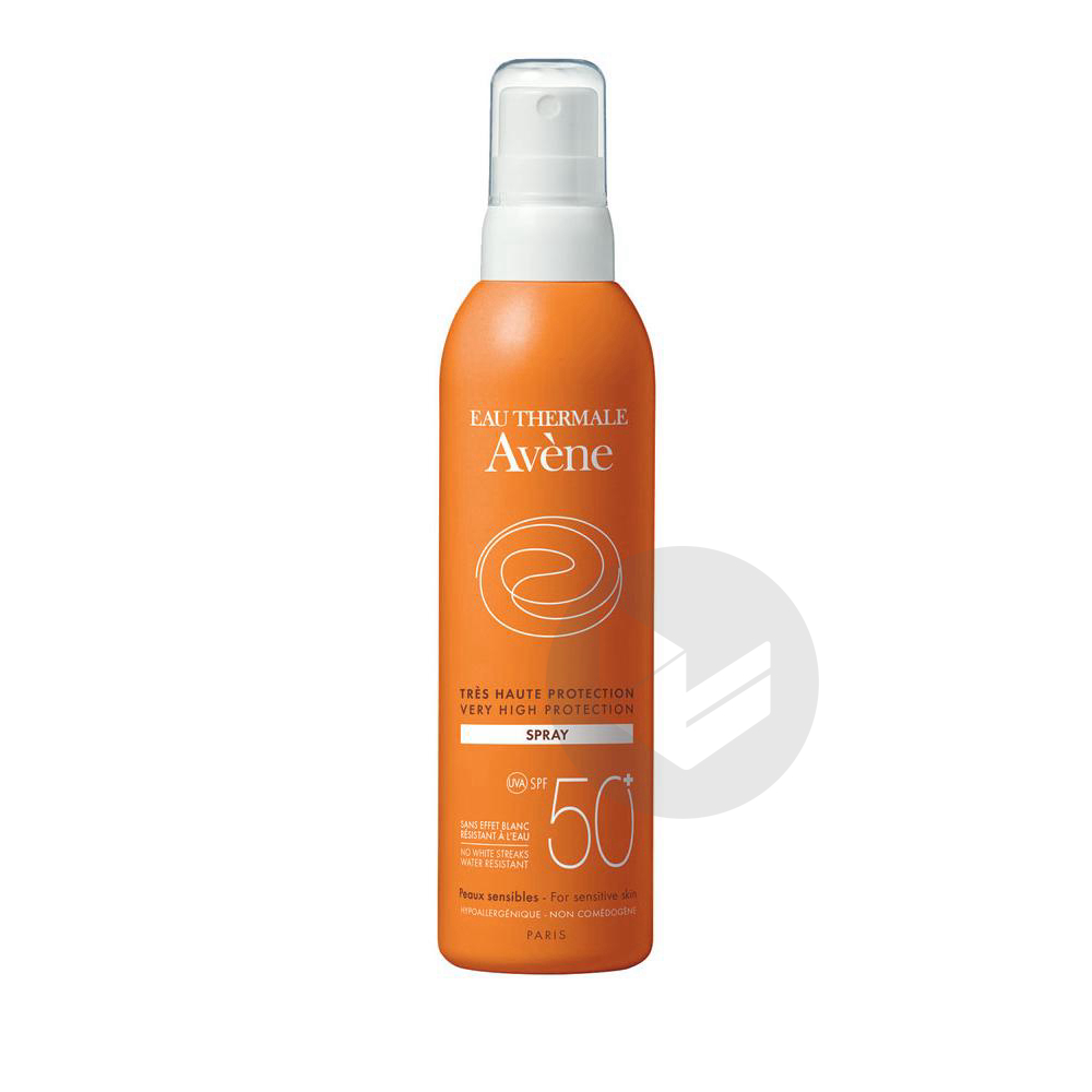 Avene Solaire Spf 50 Spray Tres Haute Protection Fl 200 Ml