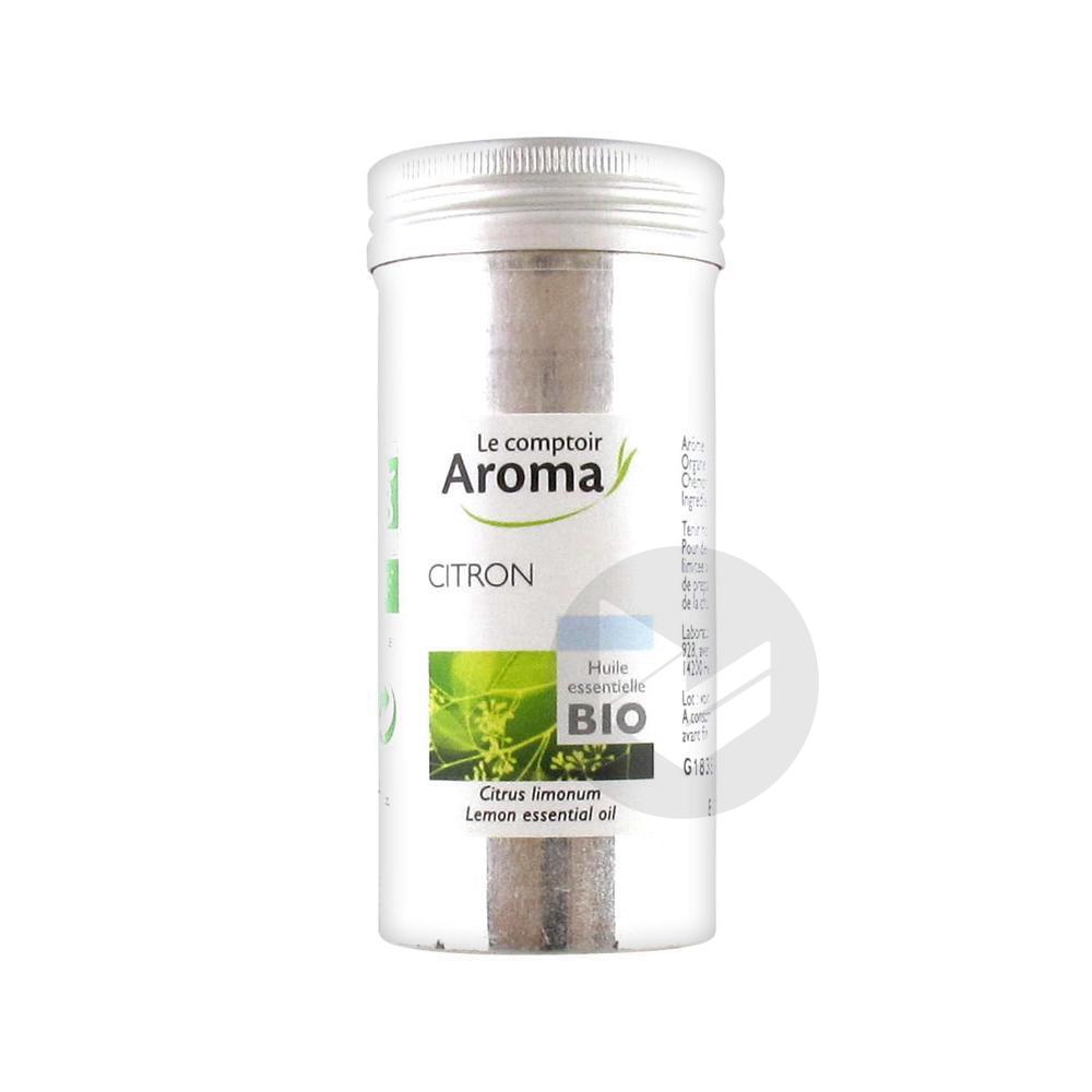 LE COMPTOIR AROMA Huile essentielle Citron Bio Fl/10ml