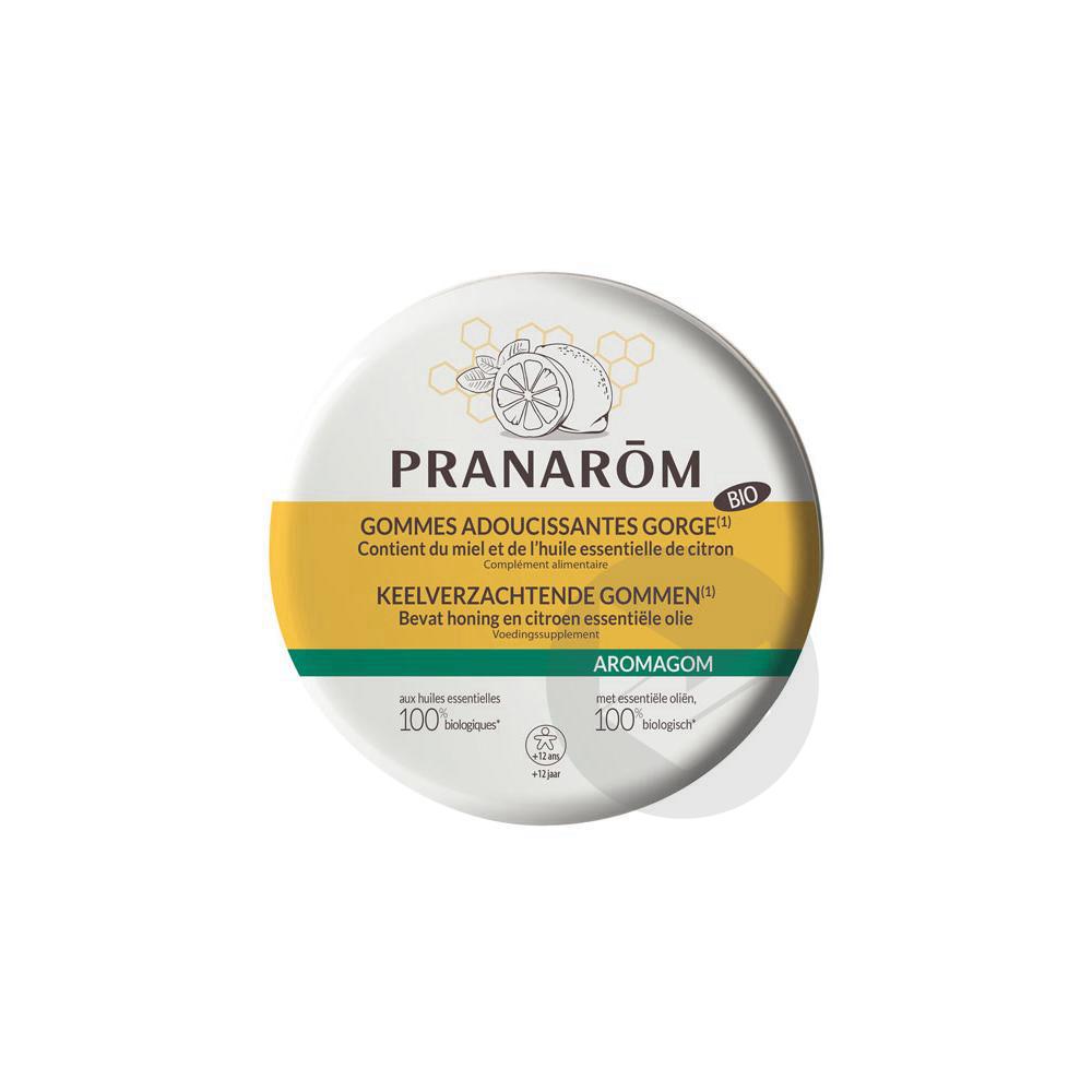 Pranarom Aromagom Gommes Adoucissantes Gorge 45 G
