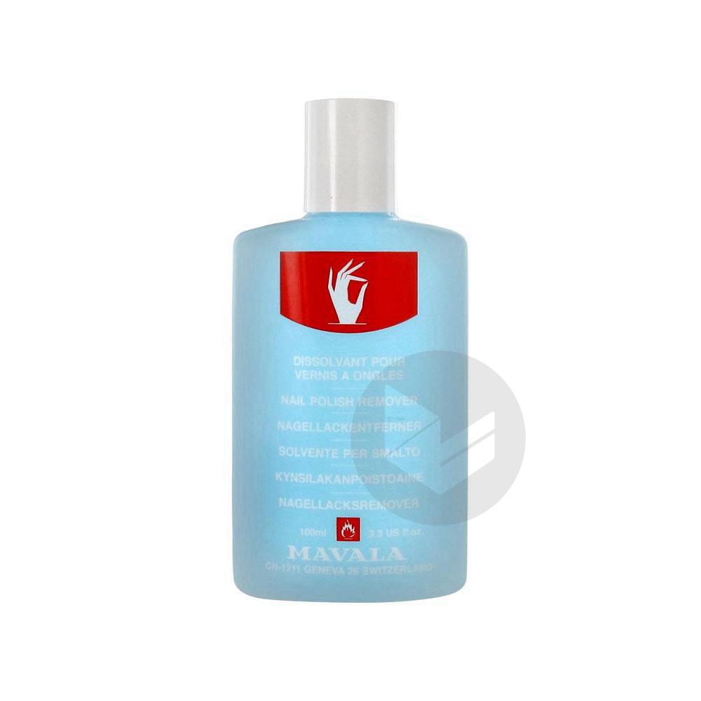 Manucure Dissolvant Sans Acetone Bleu Fl Plast 100 Ml