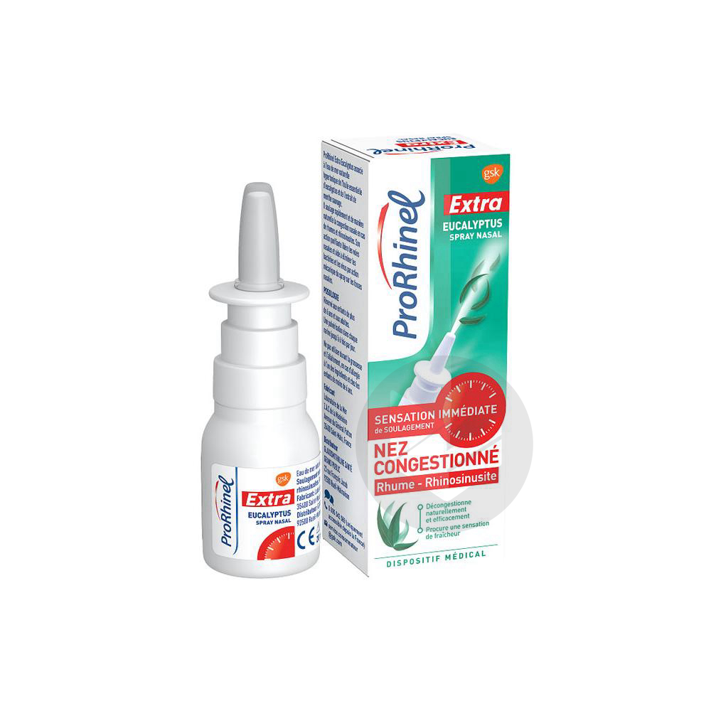 PRORHINEL EXTRA EUCALYPTUS S nas décongestionnant Spray/20ml