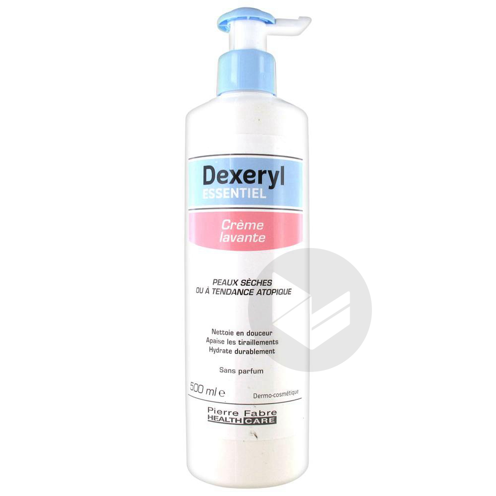 Dexeryl Essentiel Cr Lavante Fl Pompe 500 Ml