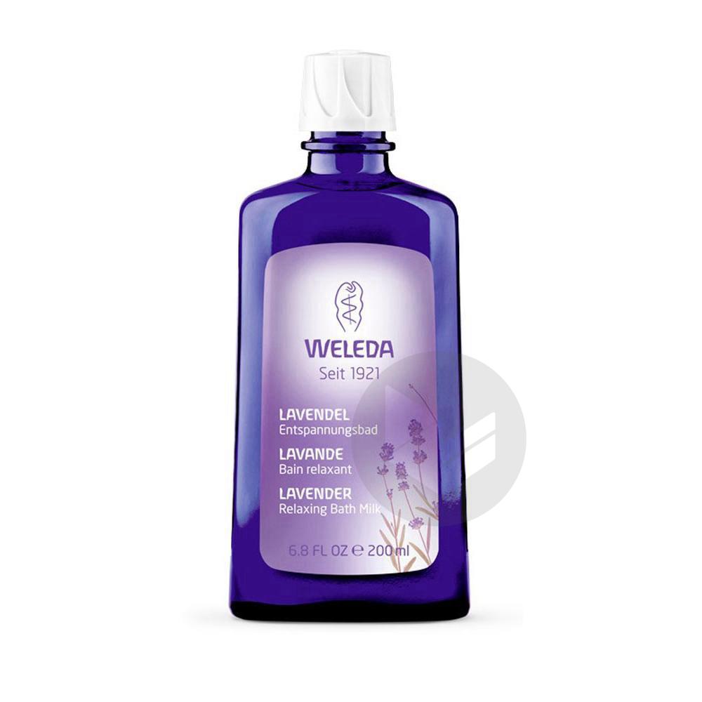 WELEDA ESSENCES DE BAIN Bain relaxant Lavande Fl/200ml