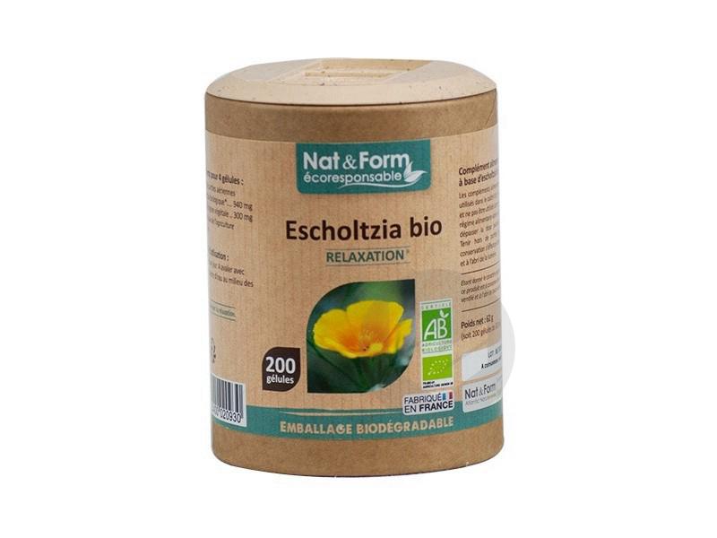 Escholtzia Bio - 200 gélules