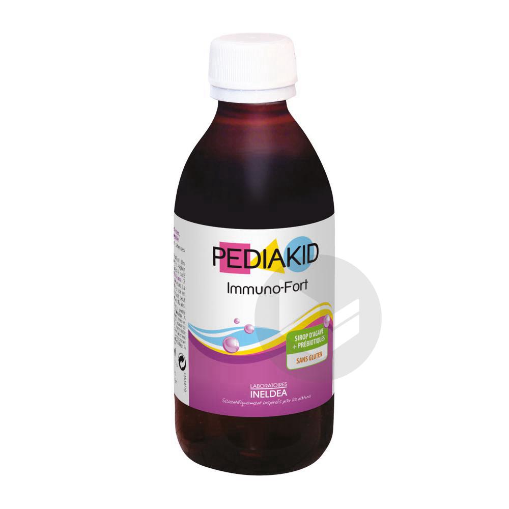 PEDIAKID IMMUNO-FORT Sirop myrtille Fl/250ml