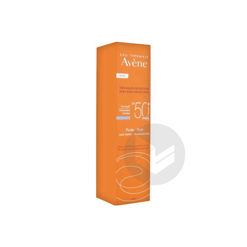 Avene Solaire Spf 50 Fluide Sans Parfum T 50 Ml