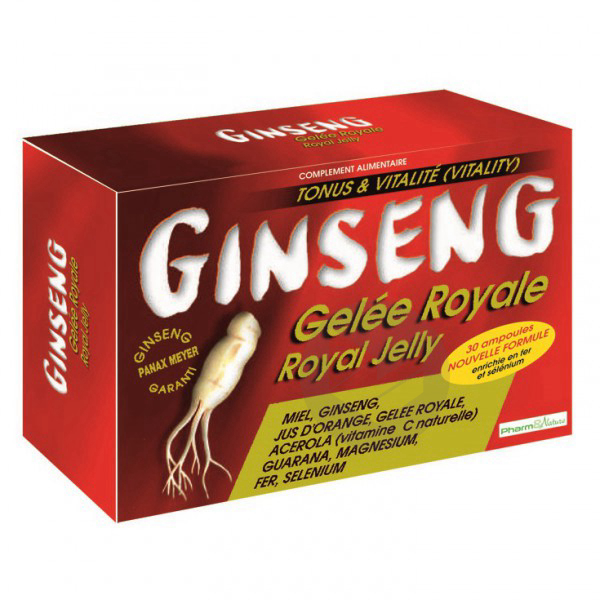 Ginseng Gelee 30 Ampoules
