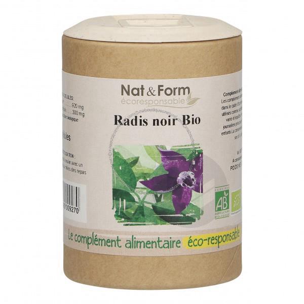 Radis Noir Bio Eco Responsable 90 Gelules