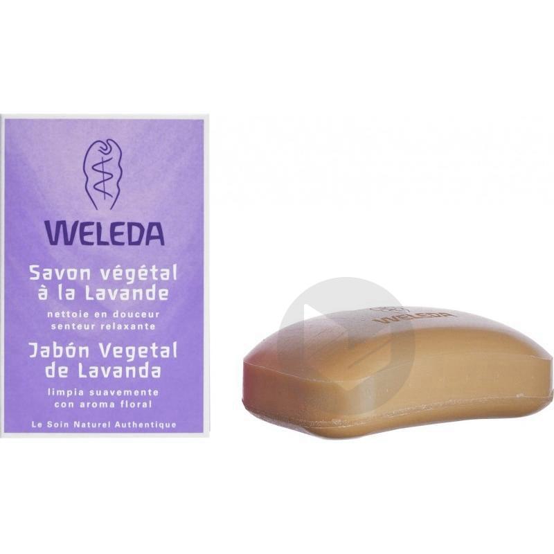 WELEDA Sav végétal relaxant Lavande Pain/100g