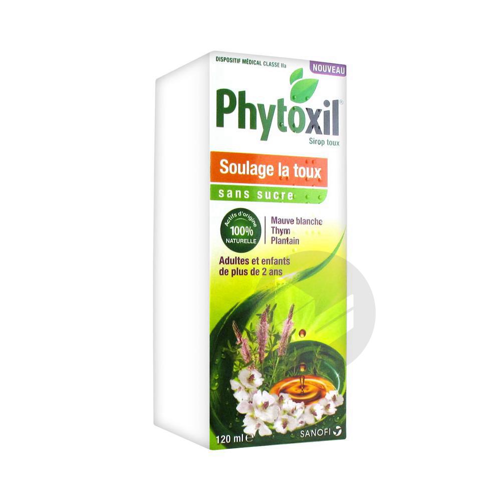 Phytoxil Toux Sans Sucre Sirop Adulte Enfant 2 Ans Fl 120 Ml