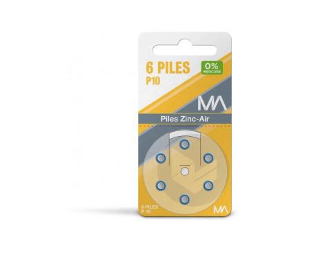 Piles P 10 Plaquette De 6