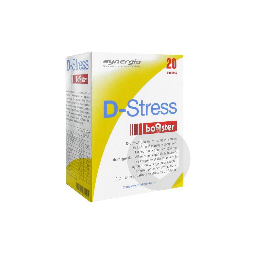 D Stress Booster Pdr Sol Buv 20 Sticks 3 75 G