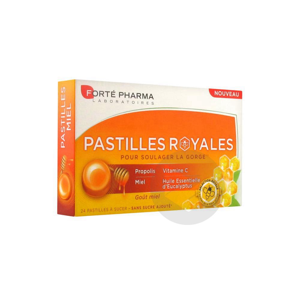 Forte Pharma Pastilles Royales Gout Miel 24 Pastilles A Sucer