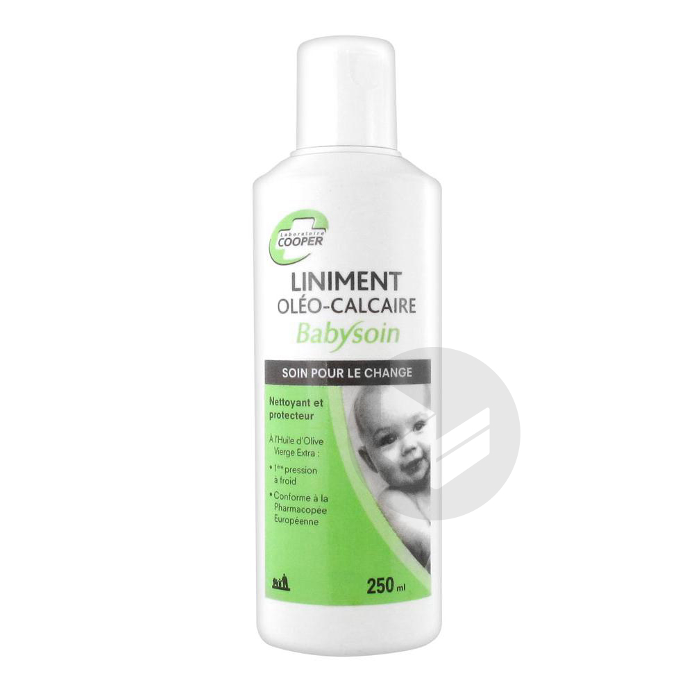 Babysoin Liniment Oleo Calcaire Fl 250 Ml
