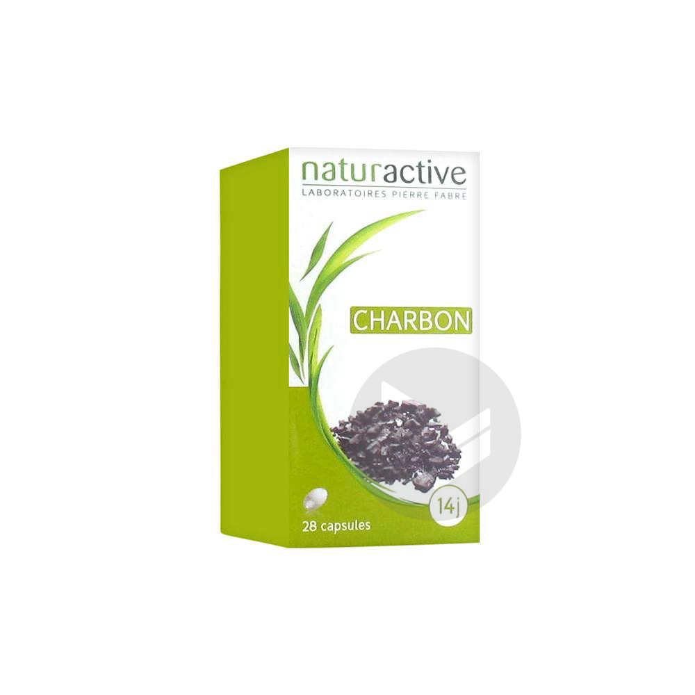 Phytotherapie Charbon Vegetal Caps Pilulier 28