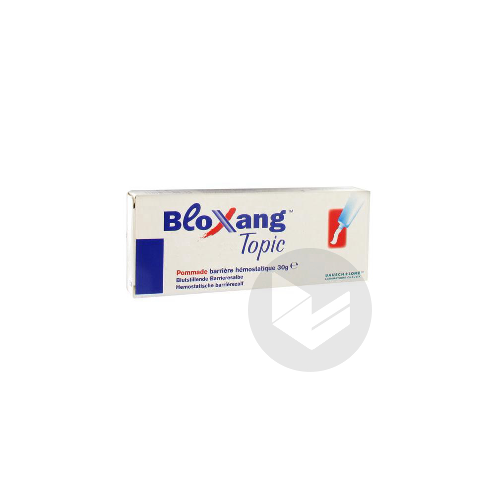 Bausch Lomb Bloxang Topic Pommade Barriere Hemostatique 30 G